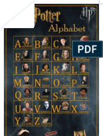 Week 5 Assignment-Harry Potter Alphabet