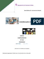 COMUNICAÇÃO DIGITAL  PROGRAMA 2019-2020 2020-2021
