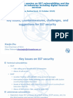 Key issues, countermeasures, challenges, and suggestions for SS7 security