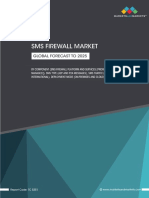 SMS Firewall Market - Global Forecast to 2025 (Sample)