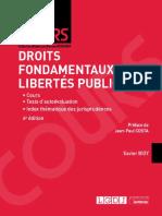Droit fondamentaux et libertés publiques - corrigé
