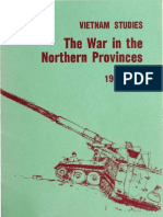 Vietnam Studies War in the Northern Provinces 1966-1968