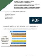 EVALUACIÓN DE IMPACTOS DE LA CONSTRUCCIÓN DEL CENTRO