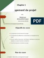 Chapitre 1 Introduction au Management de projet