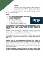 Ley de la demanda Politica de Precios (2)
