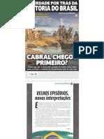 História do Brasil - Cabral chegou primeiro