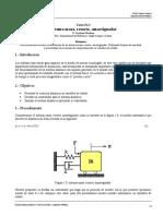 Simulacion de un sistema masa resorte amortiguador (variables de estado)