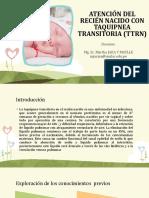 SESIÓN 11_ATENCIÓN DEL RN CON TAQUIPNEA TRANSITORIA