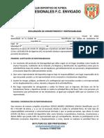 Consentimiento alvaro club futbol pdf