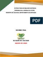 Estudio Geoelectrico Para la Prospeccion de Aguas Subterraneas en corregimiento Cuturu, Caucasia, Antioqu - Editable