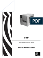Zebra s4m Manual Usuario