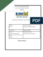 Evaluación de riesgos ambientales