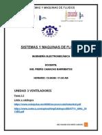 SISTEMAS Y MAQUINAS DE FLUIDOS SEGUNDO TRABAJO