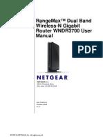 RangeMax WNDR3700 Manual