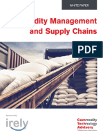 Commodity Management and Supply Chains
