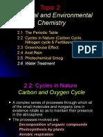 SAM Environmental Chemistry