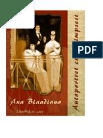 Blandiana, Ana - Autoportret cu palimpsest