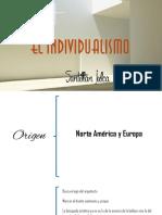 EL-INDIVIDUALISMO