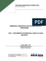 MEMORIAL TSD - COMPLETO