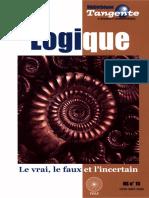Bibliothèque Tangente HS 15 - La Logique, Le Vrai, Le Faux Et l'Incertain