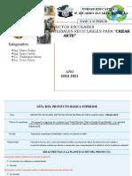 """Proyecto Escolares PROYECTOS ESCOLARES REUTILIZACIÓN DE MATERIALES RECICLABLES PARA """"CREAR ARTE"""""""