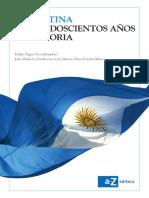 Argentina, mas de doscientos años de historia, 2014 - Felipe Pigna