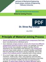 MPP_SRS Class 13 Material Joining Process