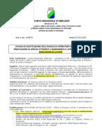 2-AVVISO Formazione Elenco Imprese e Professionisti - Aggionato