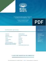 Guia de Instituições de Apoio a Negócios de Impacto Socioambiental - 2020