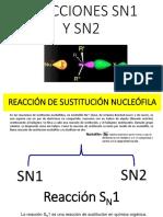 REACCIONES SN1 SN2 2020