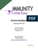 parent handbook covid-19
