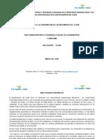 Presupuesto Oficial FUNDACIÓN