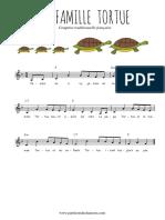Traditionnel - La famille tortue