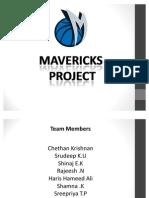 Mavericks Project