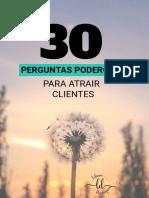 E-book - 30 Perguntas Poderosas para atrair mais clientes  (1).pdf