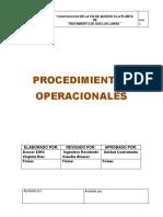 PROCEDIMIENTOS OPERACIONALES CONSTRUCCIÓN DE TERRAZA