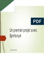 Chap1-Création d'un premier projet avec Symfony4