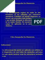 ULTRA SONOGRAFIA EN OBSTETRICIA