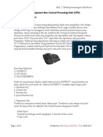 bab 2. Teknik pemasangan hardware (2.2 pemasangan komponen non CPU)