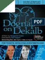 Program - Dognap on Dekalb