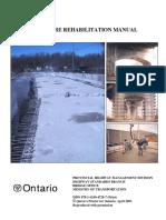Structure Rehabilitation Manual MTO 2007