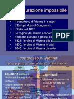 moti del 1820-21 in italia e europa