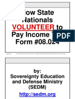 How State Nationals Volunteer to Pay Income Tax, Form #08.024