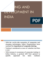 T&D in India