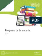 Programa _ Lengua