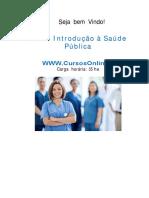 Curso - Introdução á Saúde Pública