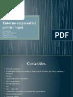 Entorno empresarial político legal EXPOSICION