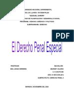 ACTIVIDAD I - MODULO I -DERECHO PENAL II