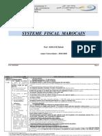 Cours de La Fiscalité Dentreprise 1 S4