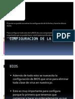 Configuracion de La Bios